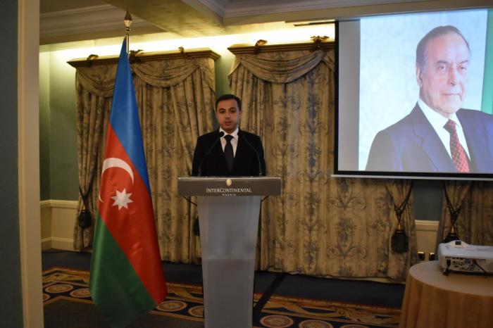 Los éxitos de Azerbaiyán en todas las áreas están vinculados con el nombre de Heydar Aliyev
