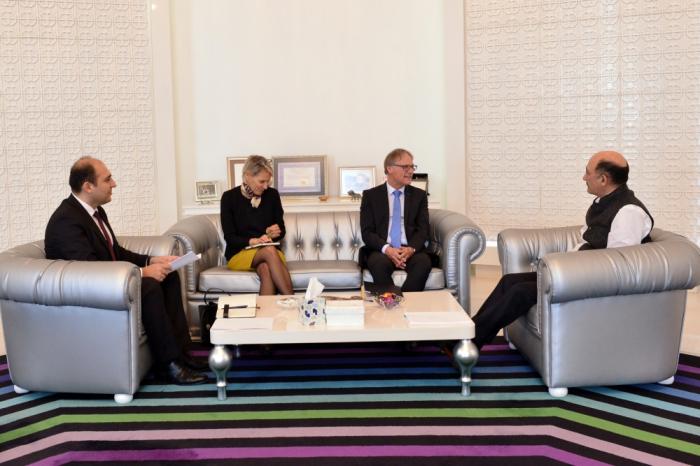 L'élargissement des relations culturelles entre l'Azerbaïdjan et l'Allemagne au menu des discussions