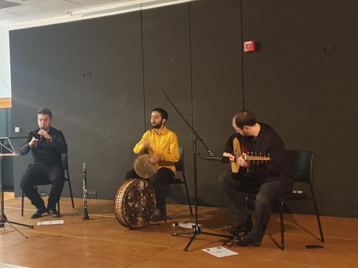 L'AAA a organisé un concert de musique azerbaidjanaise à Colmar