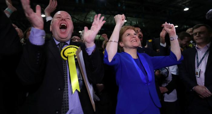 El presidente catalán felicita a independentistas escoceses por sus resultados electorales