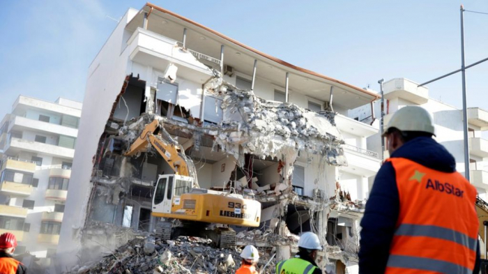 Albania seeks arrests for quake deaths in collapsed buildings