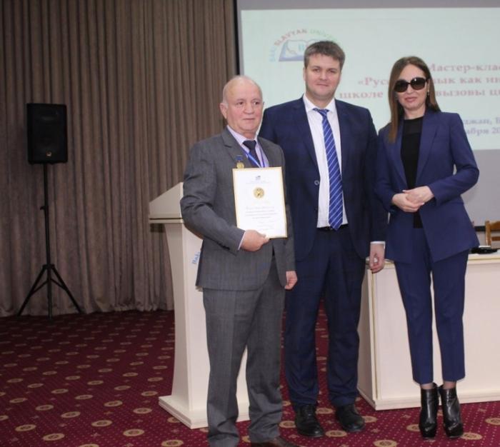 Azərbaycanlı alim Puşkin medalı ilə təltif olunub