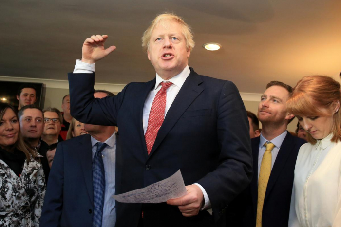 UK PM Johnson eyes parliament vote before Christmas to