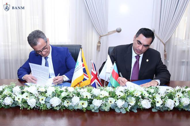 Baku Higher Oil School, British company IDF sign Memorandum of Understanding