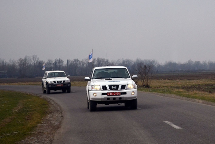 OSCE conducts monitoring on Azerbaijan-Armenia border