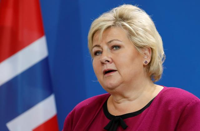 Norway PM Solberg to change cabinet line-up