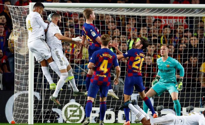El Madrid no remata al Barça