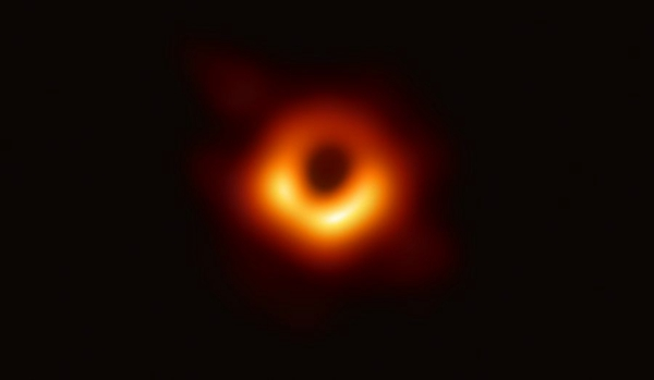 First black hole image named