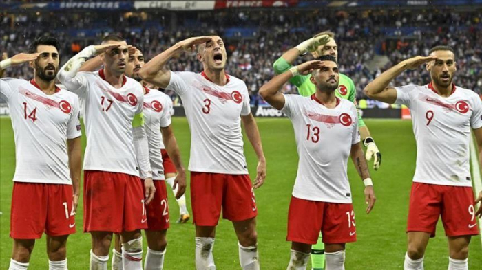 UEFA fines Turkey football body for military salute