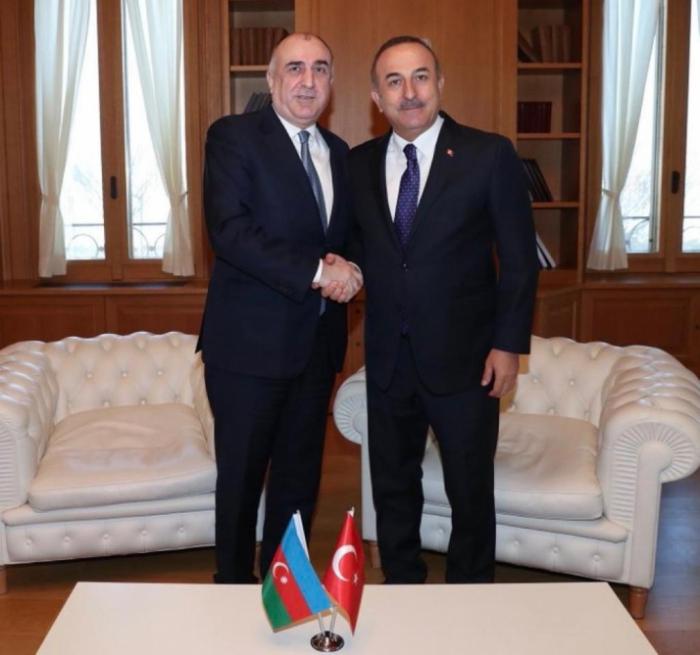 Azerbaijani, Turkish FMs meet in Tbilisi