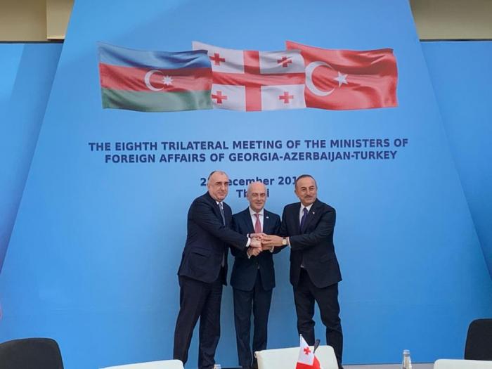 Azerbaijani, Turkish and Georgian FMs hold next trilateral meeting