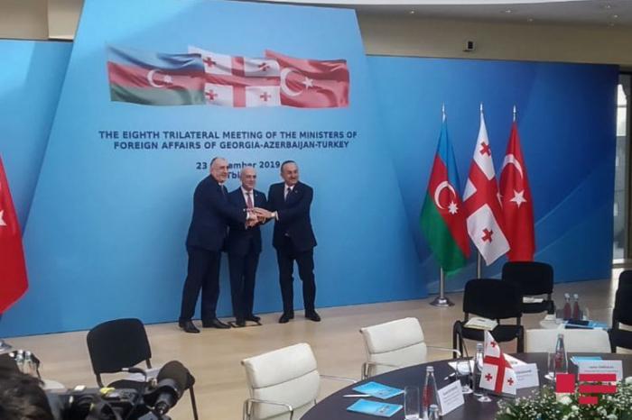 Venue of next meeting of Azerbaijani, Turkish and Georgian FMs disclosed
