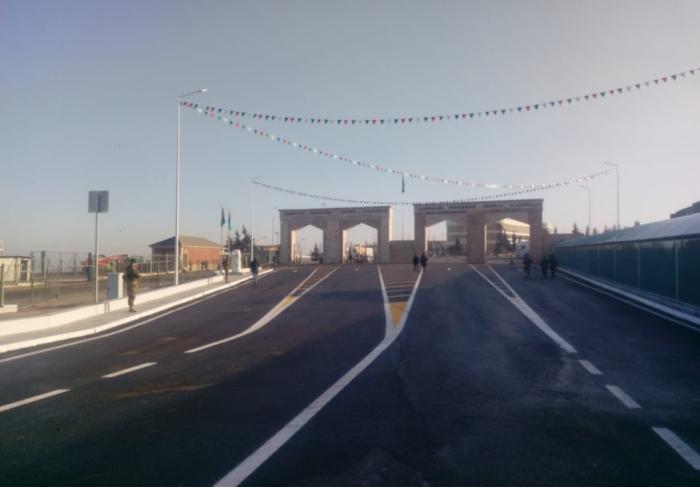 Azerbaijan, Russia inaugurate automobile bridge on border