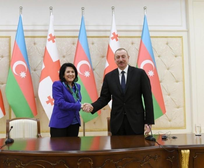 Georgian president congratulates President Ilham Aliyev
