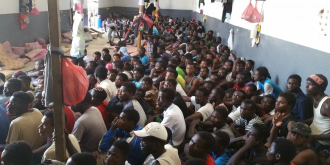 UNHCR says over 1,000 minor illegal immigrants held in detention centers in Libya