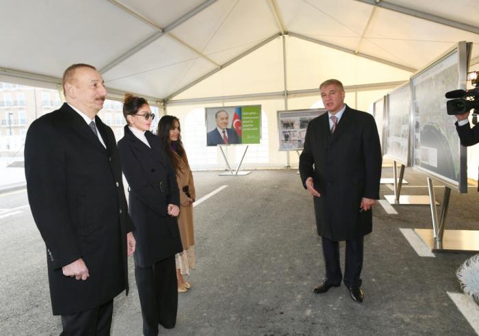 İlham Əliyev ailəsi ilə Ağ Şəhərdə - FOTOLAR (YENİLƏNİB)