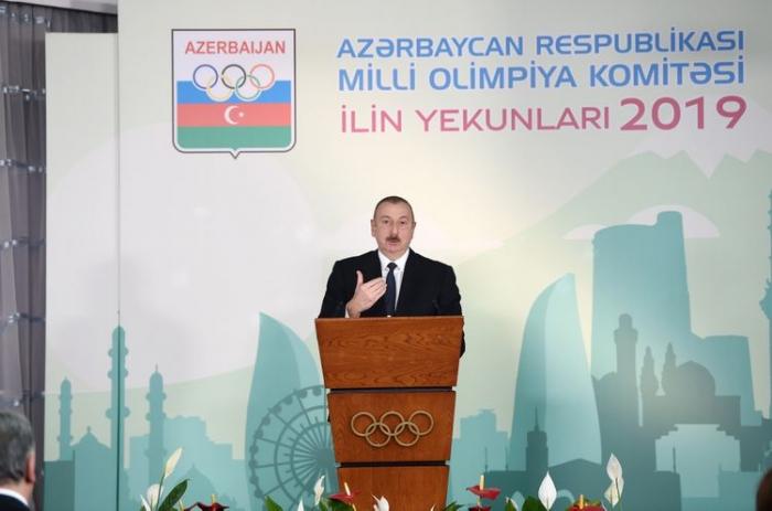 """""""Mən idmanla müntəzəm, fasiləsiz məşğul oluram"""" - İlham Əliyev"""