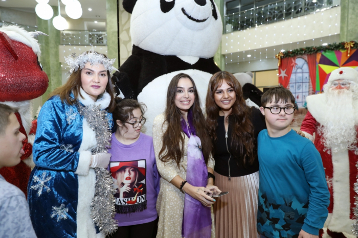 Leyla Aliyeva attends festivities for children with down syndrome - PHOTOS