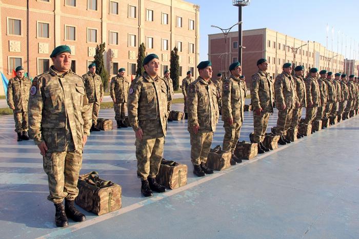 Group of Azerbaijani peacekeepers return from Afghanistan -  VIDEO