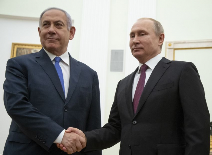 Putin, Netanyahu discuss over phone Iran, situation in Syria