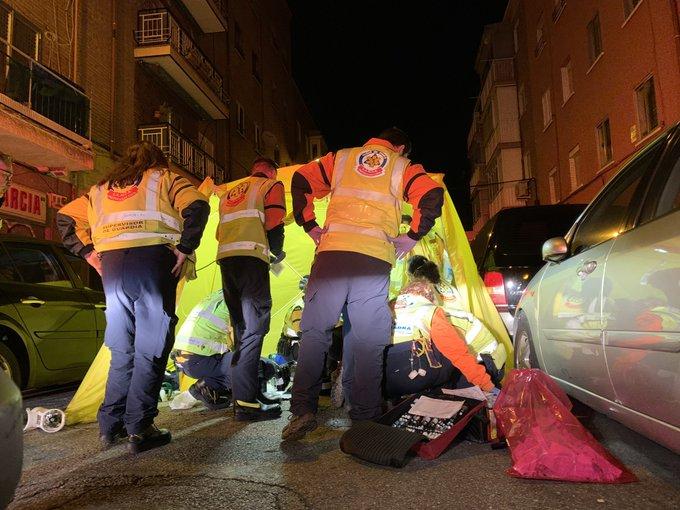 Madrid:   Muere un joven de 23 años acuchillado en Puente de Vallecas