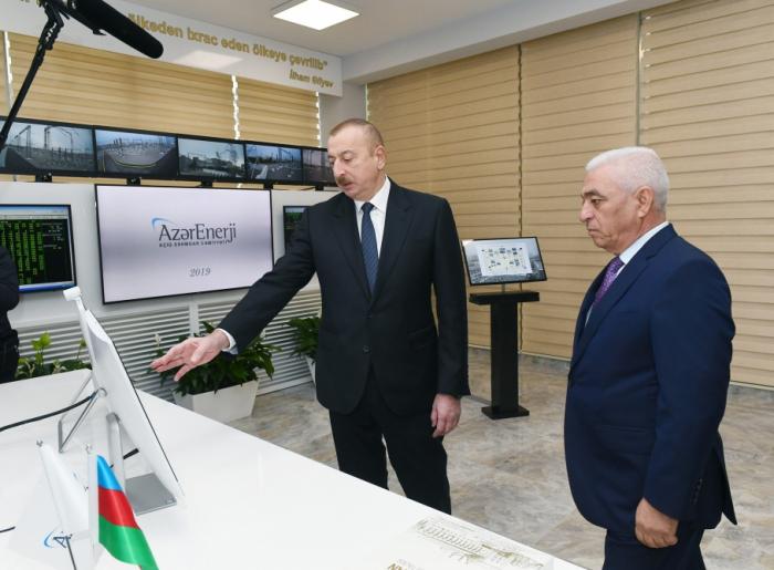 """""""Müşfiq"""" və """"Zabrat"""" yarımstansiyaları istifadəyə verildi - FOTOLAR (YENİLƏNİB)"""