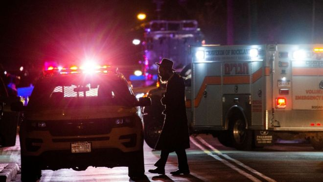 Five people stabbed at home of New York rabbi