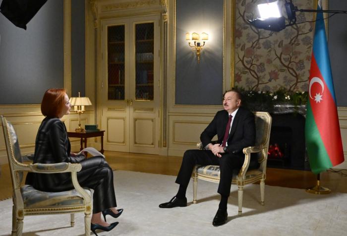 """Prezidentin """"Rossiya-24"""" telekanalına müsahibəsi - TAM MƏTN (VİDEO)"""