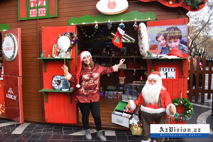 La celebración del Año Nuevo en Bakú-  Reportaje Fotográfico