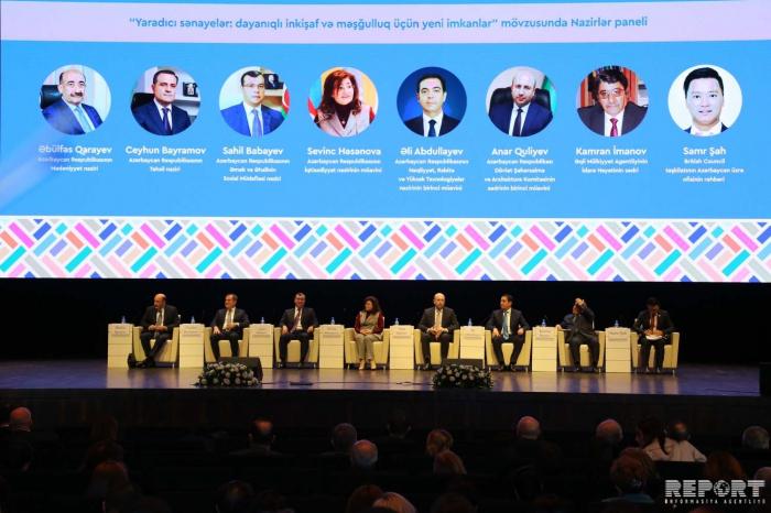 """Bakú acoge debates sobre """"Industrias creativas: nuevas oportunidades para el desarrollo sostenible y el empleo"""""""