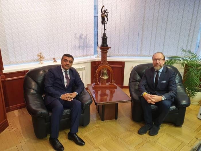 Azerbaijan, Ukraine discuss development of economic relations