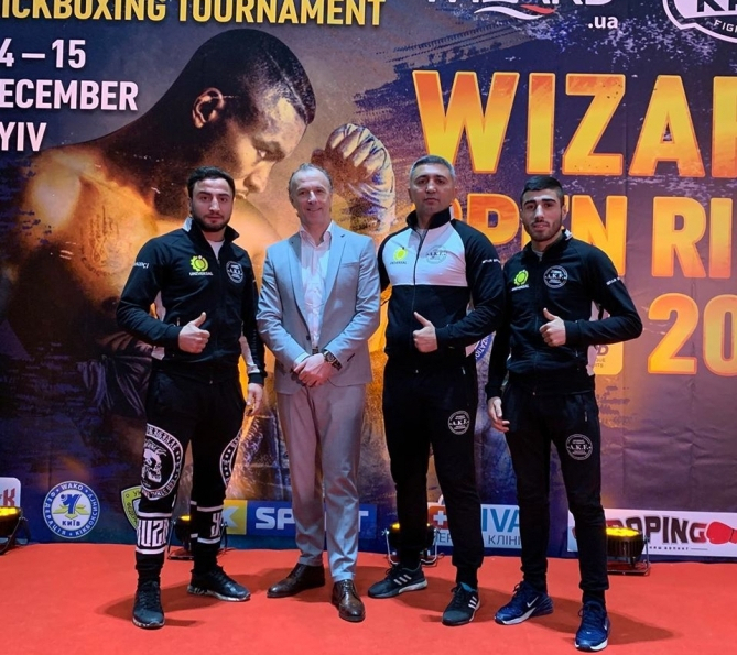 Azerbaijani kickboxers grab seven medals at Kyiv tournament