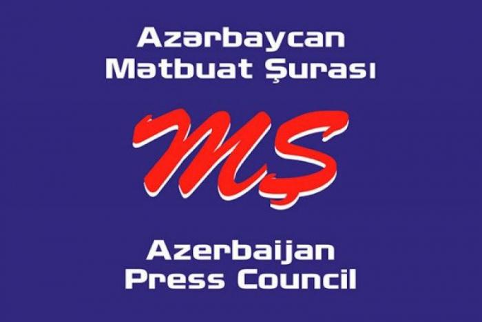 Mətbuat Şurası Rusiya Jurnalistlər İttifaqına müraciət etdi