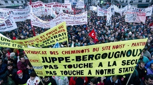 رغم الاحتجاجات.. فرنسا مصرة على إصلاح التقاعد