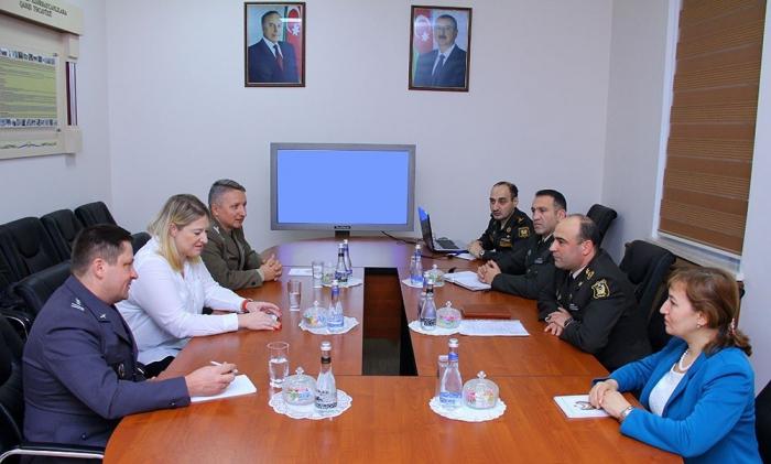 Azərbaycan və Polşa hərbi ekspertləri görüşdü