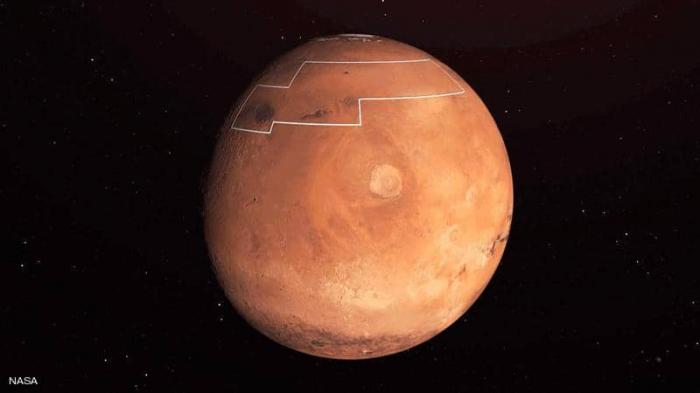 """""""ناسا"""" تضع """"خريطة الكنز"""" على سطح المريخ"""