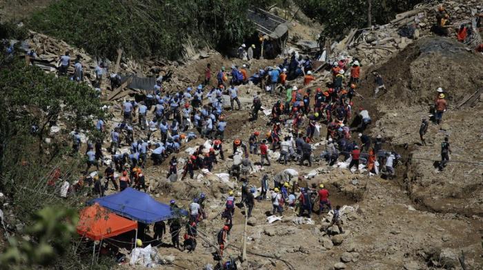Philippines:  le bilan du typhon monte à 13 morts