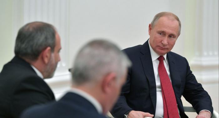 Paşinyan Putinə qarşı hörmətsizlik etdi