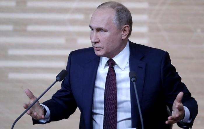 Putin Ukraynaya görə ABŞ və Qərbi sərt tənqid edib