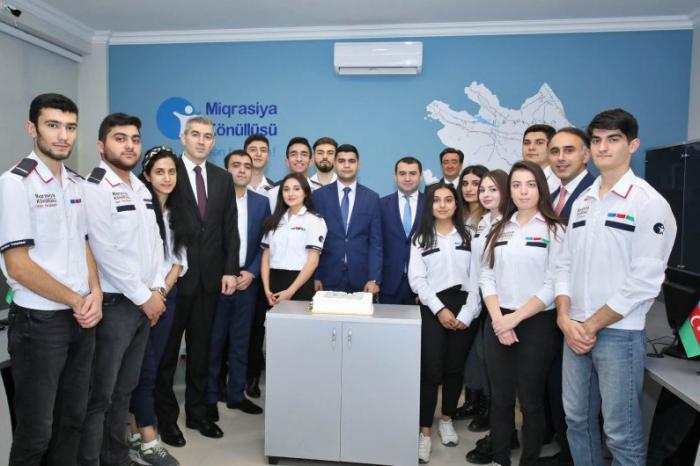 """""""Miqrasiya Könüllüsü"""" İctimai Birliyinin yeni ofisinin açılışı oldu - FOTOLAR"""