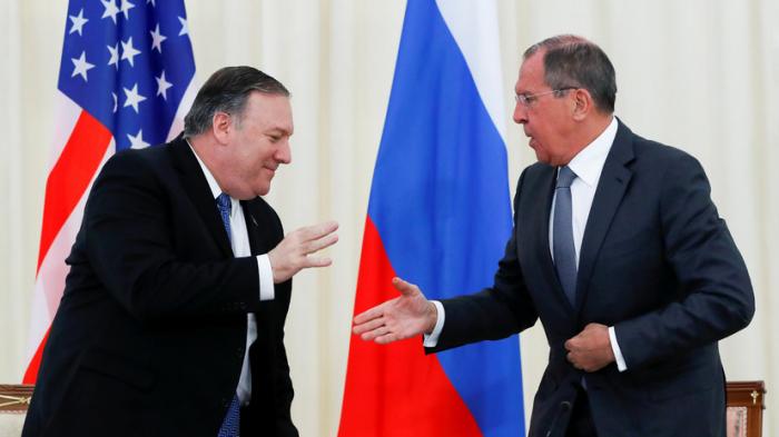 Pompeo ilə Lavrov arasında görüş keçirilib - Yenilənib