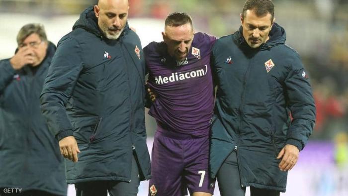 """بعد إصابة ريبيري """"الخطيرة"""".. فيورنتينا يعلن الخبر الحزين"""