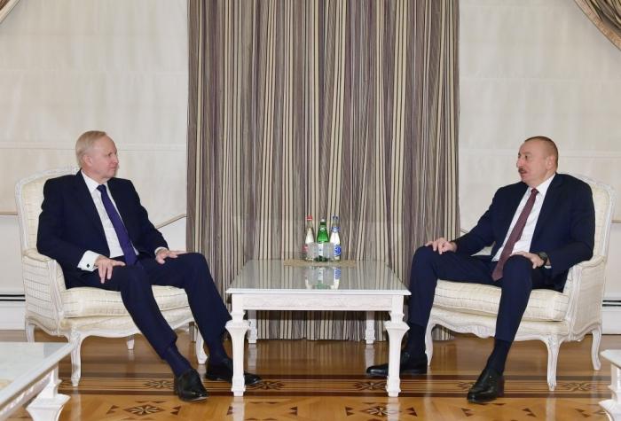 Le président Ilham Aliyev a reçu lePDGdeBP