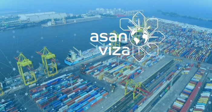 """""""ASAN Viza"""" Bakı Beynəlxalq Dəniz Ticarət Limanında"""