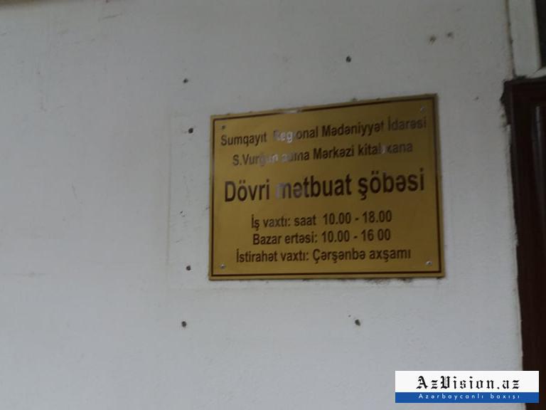 Sumqayıtda dövlət kitabxanası bağlanır
