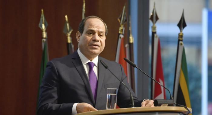 """السيسي يطالب بـ""""رد جماعي حاسم"""" على هذه الدول... فيديو"""