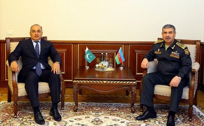 Azərbaycan-Pakistan hərbi əməkdaşlığı müzakirə olunub