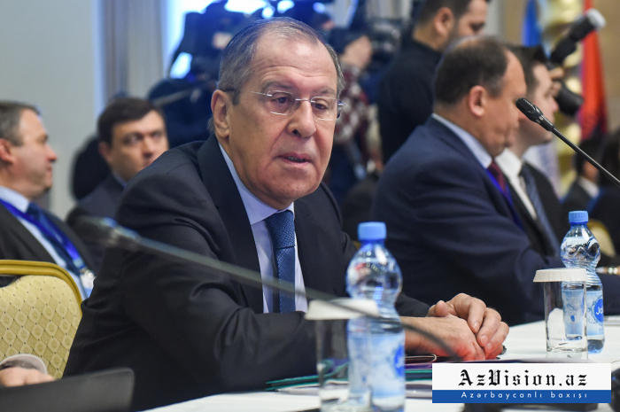 """Lavrov Qarabağ münaqişəsi barədə: """"Hələ çox iş görülməlidir"""""""
