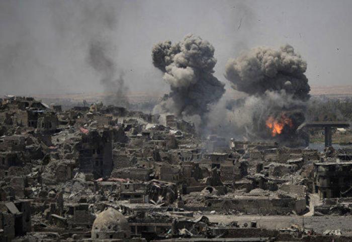 ABŞ İraqa zərbələr endirdi: 25 ölü, 51 yaralı var