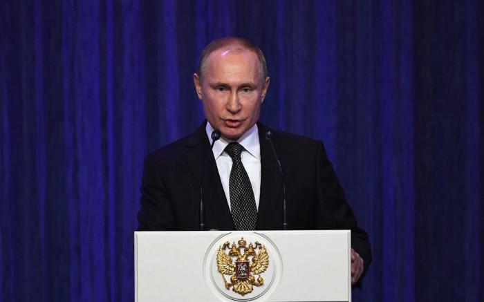 Nucléaire:   Poutine veut renouveler au plus vite le traité New Start avec les Etats-Unis